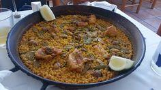 Paella en el restaurante El sequer de Tonica. El Palmar, Valencia. 8/09/2014.