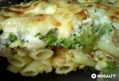 Brokkolival rakott tojásos tészta Diy Food, Pasta Recipes, Cauliflower, Macaroni And Cheese, Food And Drink, Meat, Chicken, Vegetables, Ethnic Recipes