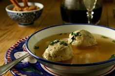 Matzoh Ball Soup from 6 Reinvented Passover Recipes Slideshow