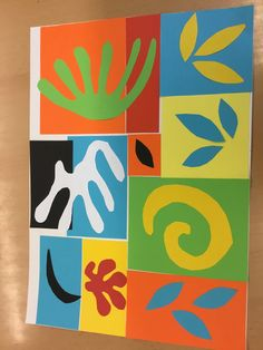 Matisse organic shapes