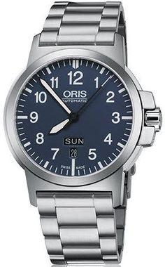 @oris Watch BC3 Day Date Bracelet #add-content #basel-16 #bezel-fixed…