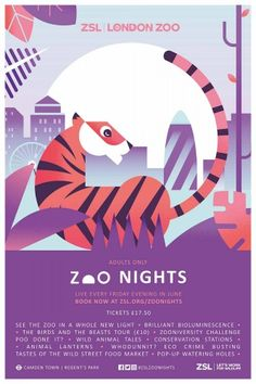 Zoo Nights campaign, by Edit_ and Claire Rigby
