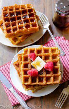 My Favorite Buttermilk Waffles-2
