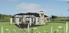 Milan 4 bedroom house design Landmark Homes builders NZ