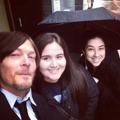 Norman and Fan girls 3/12/14