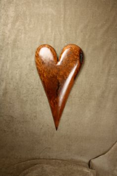 Wood Heart Carving Personalized Wedding by TreeWizWoodCarvings, $225.00 #fifthanniversarygift