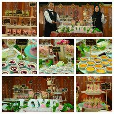 dessert table  checkour IG : TIWI_IBUNYAFALIH contact: wa/line 08572057175