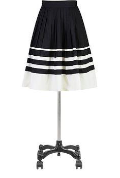 Black And White Clothing, Colorblock Skirts Women's designer fashion - Women's Skirts, Dress Skirts, Casual Skirts, Long Skirts - | eShakti.com