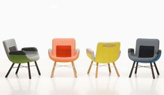colorful UN east river chair by hella jongerius for vitra