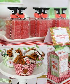 Printable Santa's Milk & Cookie Workshop. $10.00, via Etsy.