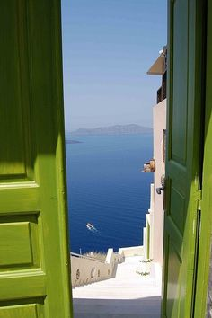 Doorway to the sea, Amalfi Coast, Italy