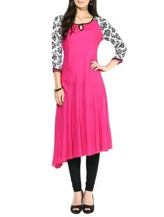 Check out what I found on the LimeRoad Shopping App! You'll love the magenta viscose and rayon kurta. See it here http://www.limeroad.com/products/10139038?utm_source=1422f64fe6&utm_medium=android
