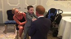 Prince Harry shares a warm embrace with a terminally ill five-year-old