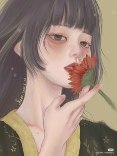 Girly Drawings, China Art, Anime Angel, Anime Sketch, Anime Fantasy, Cute Anime Guys, Kawaii Girl, Woman Painting, Aesthetic Iphone Wallpaper