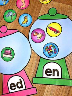 Short e CVC Worksheet Pack with a Bonus Literacy Center First Grade Activities, Preschool Learning Activities, Reading Activities, Teaching Kids, Kindergarten Language Arts, Kindergarten Literacy, Literacy Centers, Short E Words, Cvc Worksheets