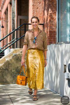New York SS 2017 Street Style: Laurel Pantin