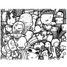 Doodle on Behance