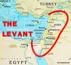 The Coded Message Obama Delivers When He Says ISIL Instead of ISIS....What makes up the near exact center of the Muslim Levant? Israel.