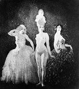 Norman Lindsay. Three dresses