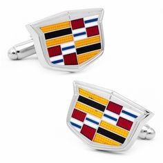 Cadillac Shield Logo Cufflinks