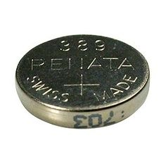 Renata Silver Oxide Watch Battery For Renata 389 Button Cell $0.79
