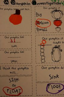 Mrs. Lee's Kindergarten: Pumpkins/The Little Old Lady Who Was Not Afraid of Anything