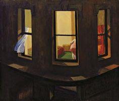Edward Hooper. Night Windows, 1928.