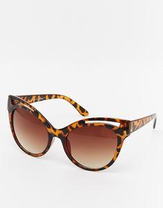 AJ Morgan Flamingo Cat-Eye Sunglasses