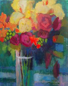 """""""Yellow Iris"""" Annie O'Brien Gonzales"""