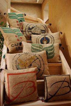 Diy Burlap Bags, Burlap Coffee Bags, Burlap Sacks, Burlap Crafts, Jute Bags, Hessian, Coffee Bean Sacks, Potato Bag, Diy Sac