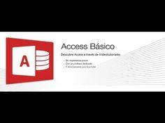 """COMO CREAR UNA BASE DE DATOS EN ACCESS """"PASO I"""" - YouTube"""