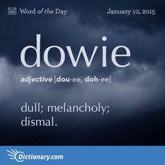 You ! In the corner. Stop yawning !.== IT'S A DOWIE DAY!!!! ==