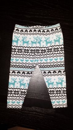 Christmas Baby Girl Leggings Toddler Christmas by LoveMere on Etsy, $15.00