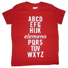 elemeno has always been my favorite letter!