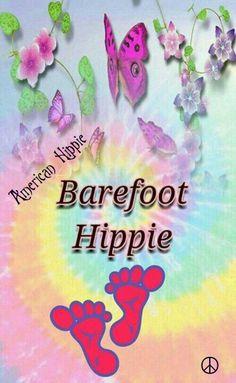 ☮ American Hippie ☮ Barefoot Hippie