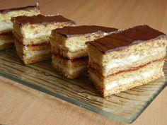 Chod: Zákusky a koláče - Page 4 of 254 - Mňamky-Recepty. Hungarian Cake, Cookie Desserts, No Bake Cake, Cake Cookies, Tiramisu, French Toast, Sweets, Snacks, Baking