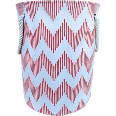 Mainstays Canvas Laundry Hamper with Rope Handles, Multiple Colors Image 1 of 5