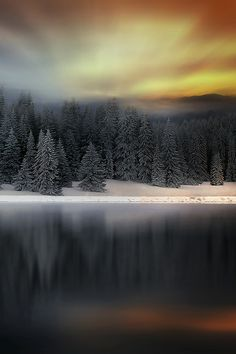 sundxwn: Winter in the Mountain by Albena Markova
