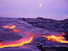 Big Island...lava...