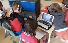 """""""Every one of the Year 3 kids who I saw at Princes Hill Primary School just outside of Melbourne had their own laptops, yet none of them, zero, were 'disengaged' during my visit. And this picture was taken during the 90 minutes of free learning time that every student gets every day at Princes Hill.""""   - Will Richardson  That's an awesome idea! Differentiated Instruction, Learning Time, 3 Kids, Differentiation, Primary School, Melbourne, Laptops, The Outsiders, Zero"""