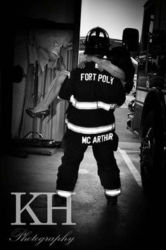 #firefighter engagement pictures