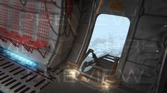 cargo aircraft interior x