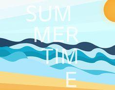 "Check out new work on my @Behance portfolio: ""Summertime"" http://on.be.net/1MhqHJk"