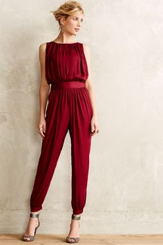 Shop the Draped Garnet Jumpsuit and more Anthropologie at Anthropologie today. Read customer reviews, discover product details and more.