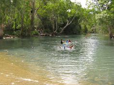 Stoney Creek near Yeppoon - camping and swimming