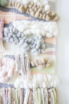 Woven Wall Hanging by Bonnie Christine (10)