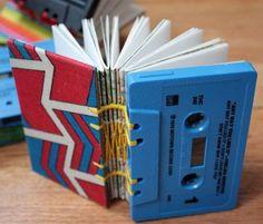 Reciclar cassettes. Ejemplos