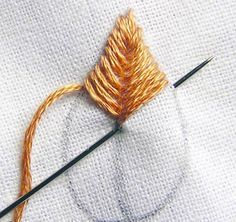 hand embroidery stitches for beginners - Google Search