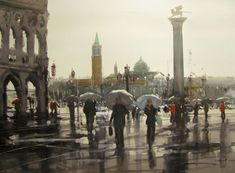 Grey May Day Venice by Amanda Hyatt