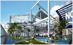 (RECREATION) Kids Aqua Park, Splash Academy, Entourage, Aqua Park, Getaway, (featuring Sport Complex) http://www.getaway.ncl.com/ship/recreation/sports-complex/   RECREATION (more). http://www.getaway.ncl.com/ship/whats-on-board/?segment=resto#?segment=recre
